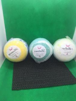 3 Bubbly Belle Bath Bombs Ring Size 5 MELLOW+HARMONY+BALANCE
