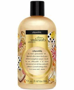 philosophy 3 in 1 VANILLA CHOCOLATE CRUMBLE 16 oz shampoo sh