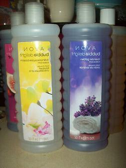 4 different bubble baths 24 oz new