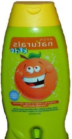 Avon Naturals Outgoing Orange Kids Body Wash & Bubble Bath 8