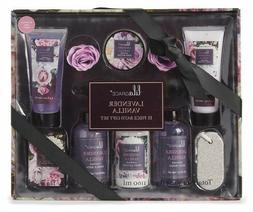 Bath and Body Spa LilaGrace Luxury Lavender Vanilla 11 Piece