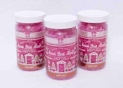 Bath & Body Works Bath Salt Soak Crystal Candy Rose Set of 3