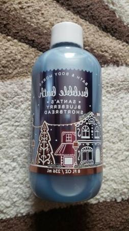 Bath & Body Works Bubble Bath Santa's Blueberry Shortbread N