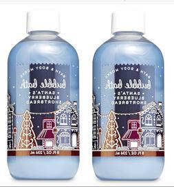 Bath & Body Works  Santa's Blueberry Shortbread Bubble Bath