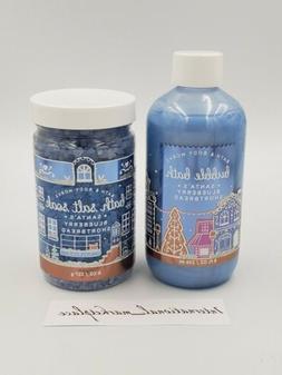 Bath & Body Works SANTA'S BLUEBERRY SHORTBREAD Bubble Bath +