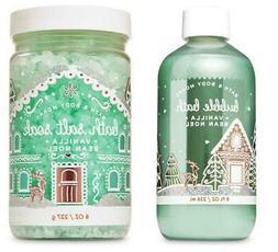 Bath Body Works VANILLA BEAN NOEL Bath Salt Soak & Bubble Ba