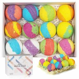 Bath Shower Bombs Gift Set for Kids and Women, Organic Bubbl