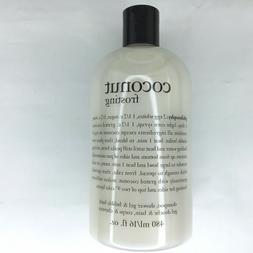 Philosophy COCONUT FROSTING Shampoo Shower Gel Bubble Bath S