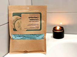 Cucumber Bubbly Bath Salts | 5 oz | Luxury Relaxing Bath Soa
