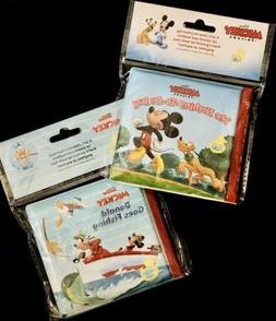 DISNEY Mickey & Friends Bubble Bath Book Toys, Goofy Donald,