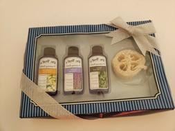 Dr Teal's Relax with Eucalyptus & Spearmint 4-Piece Bath Gif