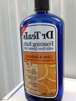 Dr. Teal's Foaming Bubble Bath Citrus  + Vitamin C  32 fl.