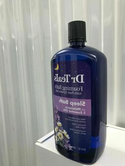 Dr. Teal's Foaming Bubble Bath Sleep Bath Melatonin + Esse