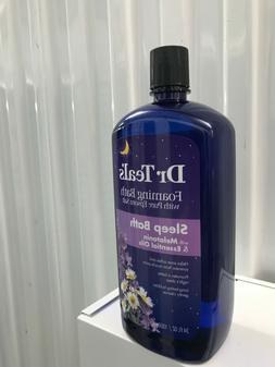 dr teals foaming bubble bath sleep bath