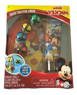 Disney Junior Mickey Bath Time Bubble Bath Dart Board Ball S