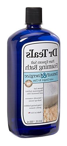 Dr Teal Detox Ginger Size Dr Teal Detox Clay Foam Bath