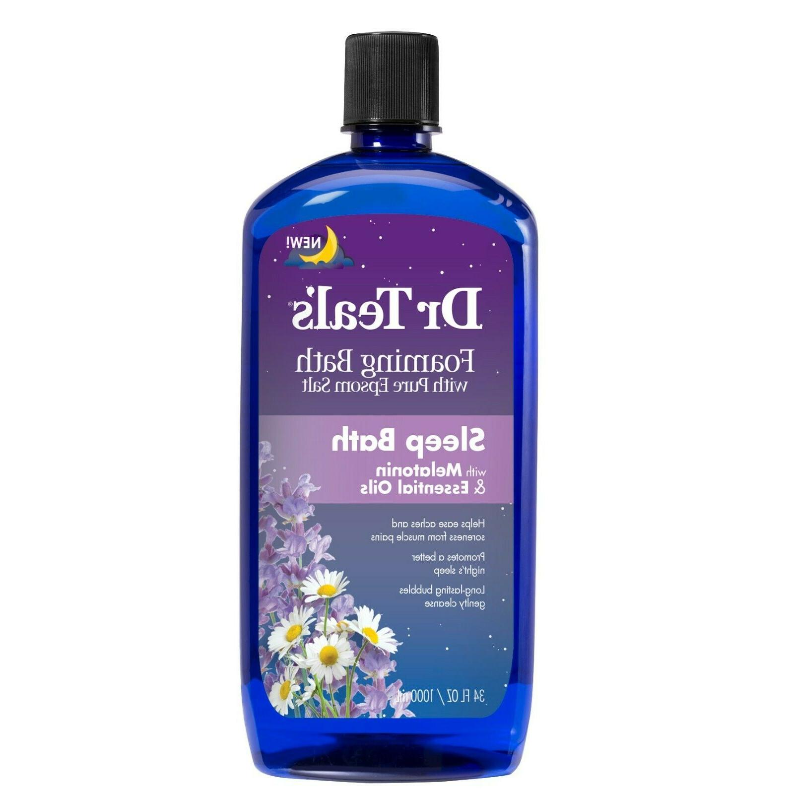 Dr Teal's Foaming Bath with Pure Epsom Salt, Soothe & Slee