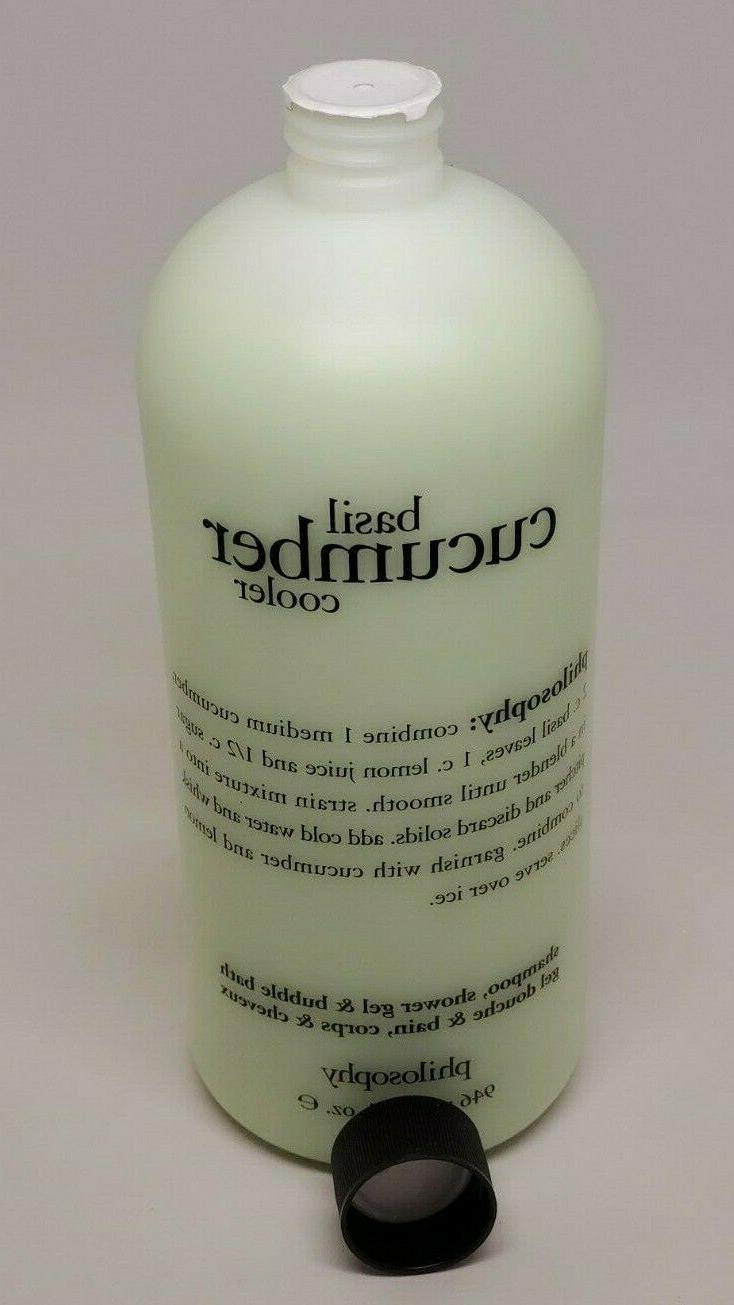 PHILOSOPHY BASIL SHAMPOO BATH SHOWER GEL OZ