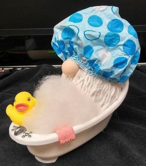 bubble bath gnome