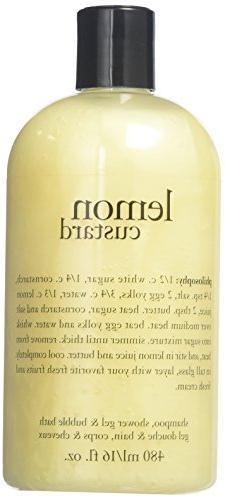 Philosophy Lemon Custard Shampoo/Shower Gel and Bubble Bath,