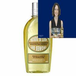 L'Occitane Cleansing And Softening Almond Shower Oil, 8.4 Fl