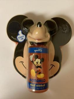 Disney Mickey Mouse Gumdrop Bubble Bath W/Sponge 1.8 Fl. Oz.