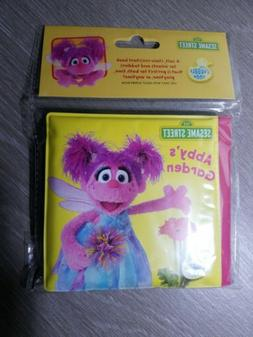 "NEW Sesame Street Bath Time Bubble Book, Toy, ""ABBY'S GA"