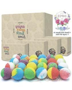 Organic Natural Bubble Bath Bombs Handmade Fizzy Spa Moistur
