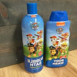 Nickelodeon Paw Patrol Body Wash And Bubble Bath   S11