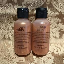 Philosophy  APPLE CIDER  Shampoo, Shower Gel, Bubble Bath Tr