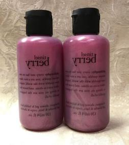 Philosophy  TINSEL BERRY  Shampoo, Shower Gel, Bubble Bath S