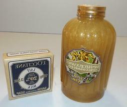 RARE HTF NEW L'Occitane 16.9 Vanilla Shimmer Bath & Shea But