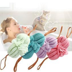 Rich Bubbles Cleaning Mesh Spa Washing Body Brush Bath Spong