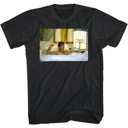 Scarface Tony Montana Bubble Bath Men's T Shirt Clean Gangst