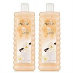 Avon Senses Vanilla Cream Bubble Bath 24 oz