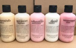 Set of 5 Philosophy Scented Shampoo, Shower Gel & Bubble Bat