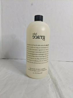 Philosophy Shampoo Bubble Bath and Shower Gel 32 OZ. New Sea