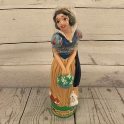 Snow White Figure Walt Disney Bubble Bath Bottle Vintage 199