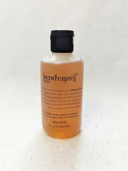 Philosophy The Gingerbread Man Shampoo Shower Gel Bubble Bat