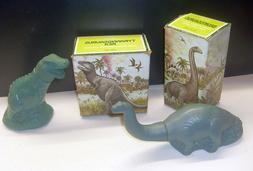 Avon Unused Dinosaur Bubble Baths - Tyrannosaurus Rex & Bron