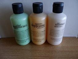 Philosophy Vanilla Coconut Shampoo, Shower Gel & Bubble Bath