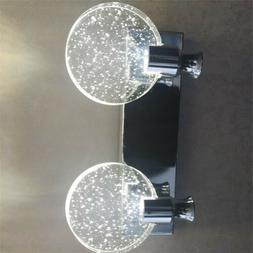 Vanity Hotel Hallway Bubble Crystal Wall Lamp Corridor Light